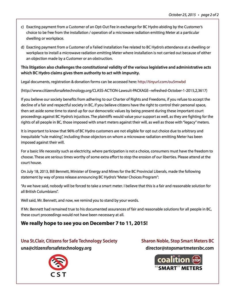 Lawsuit Against BCHydro-p2